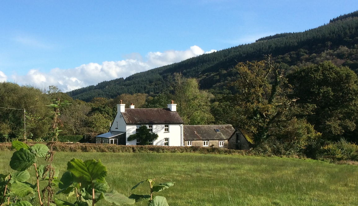 Ty'r Cae Farm–Main house - self catering – 3 bed, sleeps 6